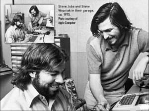 Jobs và Wozniak khởi nghiệp trong garage năm 1975